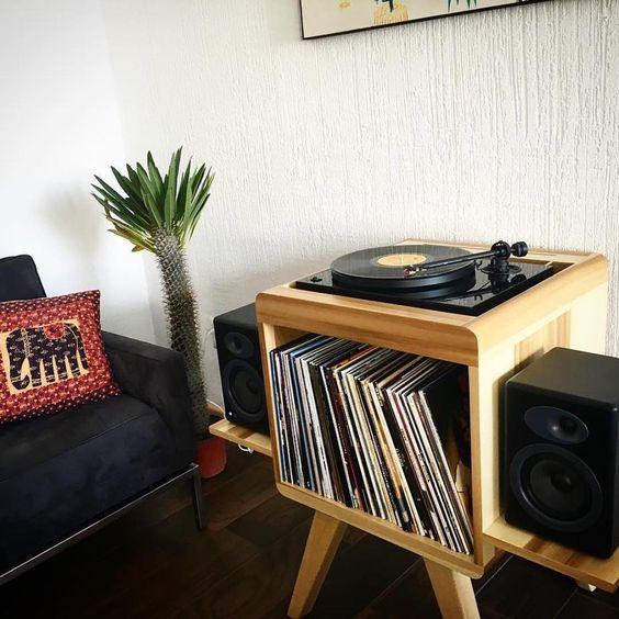 Un angolo Music per decorare casa
