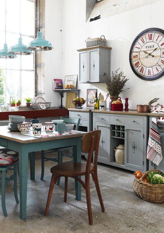 Stile retr in cucina ecco 20 idee da cui trarre for Come decorare lo stile vittoriano