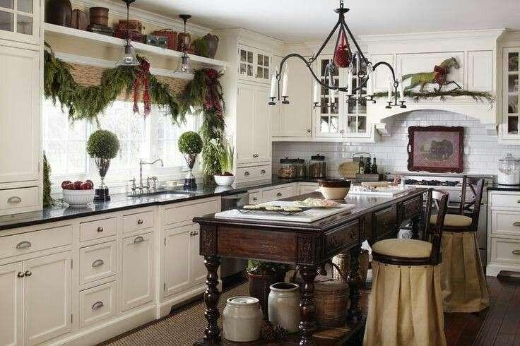 Una decorazione natalizia in cucina ecco 20 idee per ispirarvi - Idee cucina per natale ...