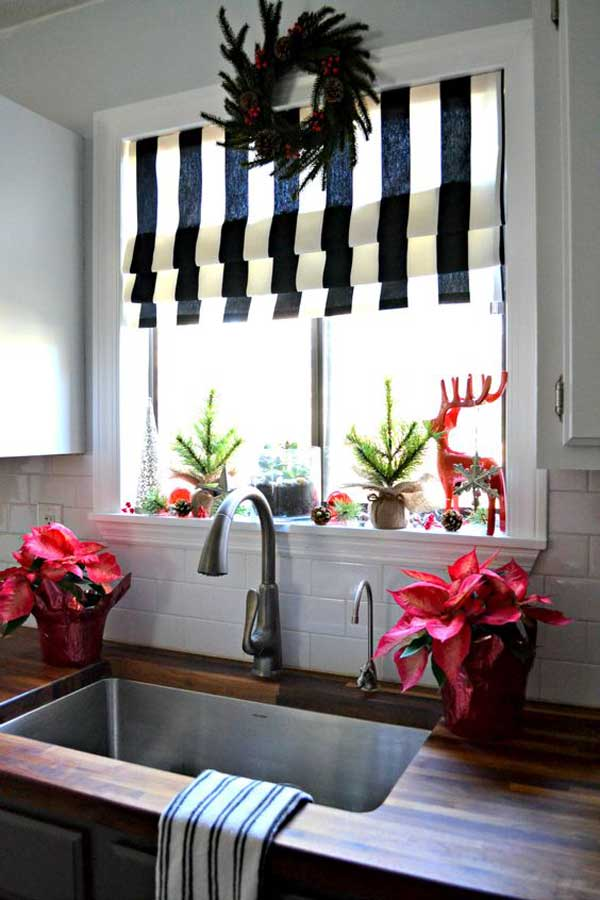 Una Decorazione Natalizia In Cucina Ecco 20 Idee Per