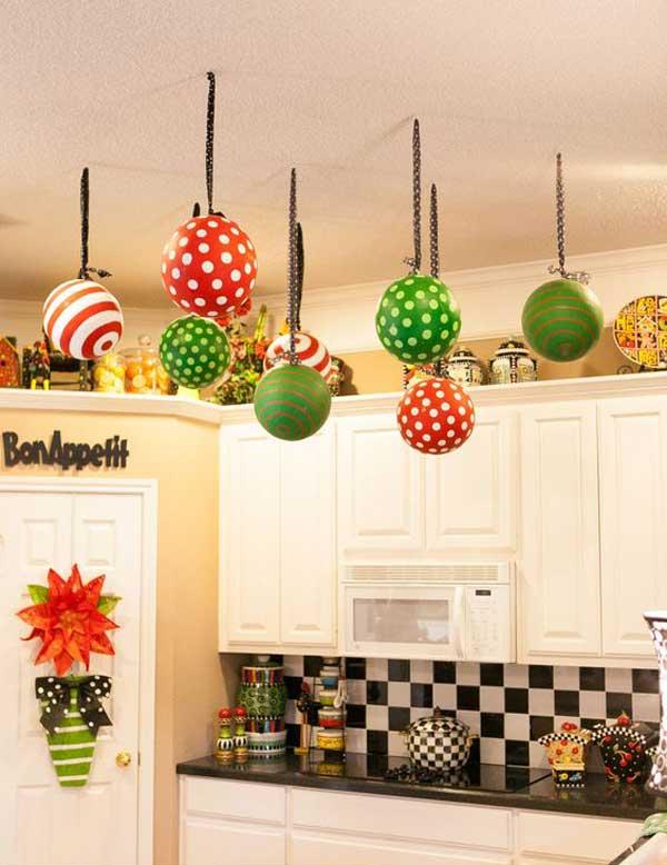 Decorazioni di Natale per la cucina (Foto)   Design Mag