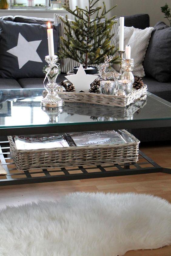 Abbellire casa con un cesto a natale ecco 15 idee per ispirarvi - Idee per abbellire casa ...