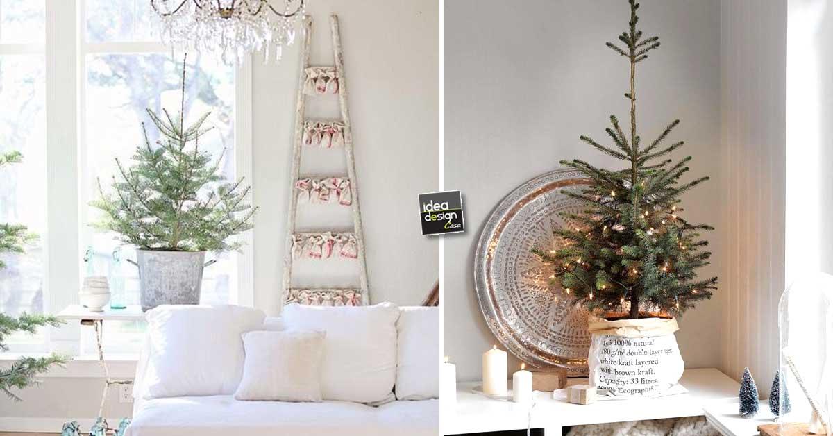Decorare con un piccolo albero di natale 15 idee per - Idee per decorare l albero ...