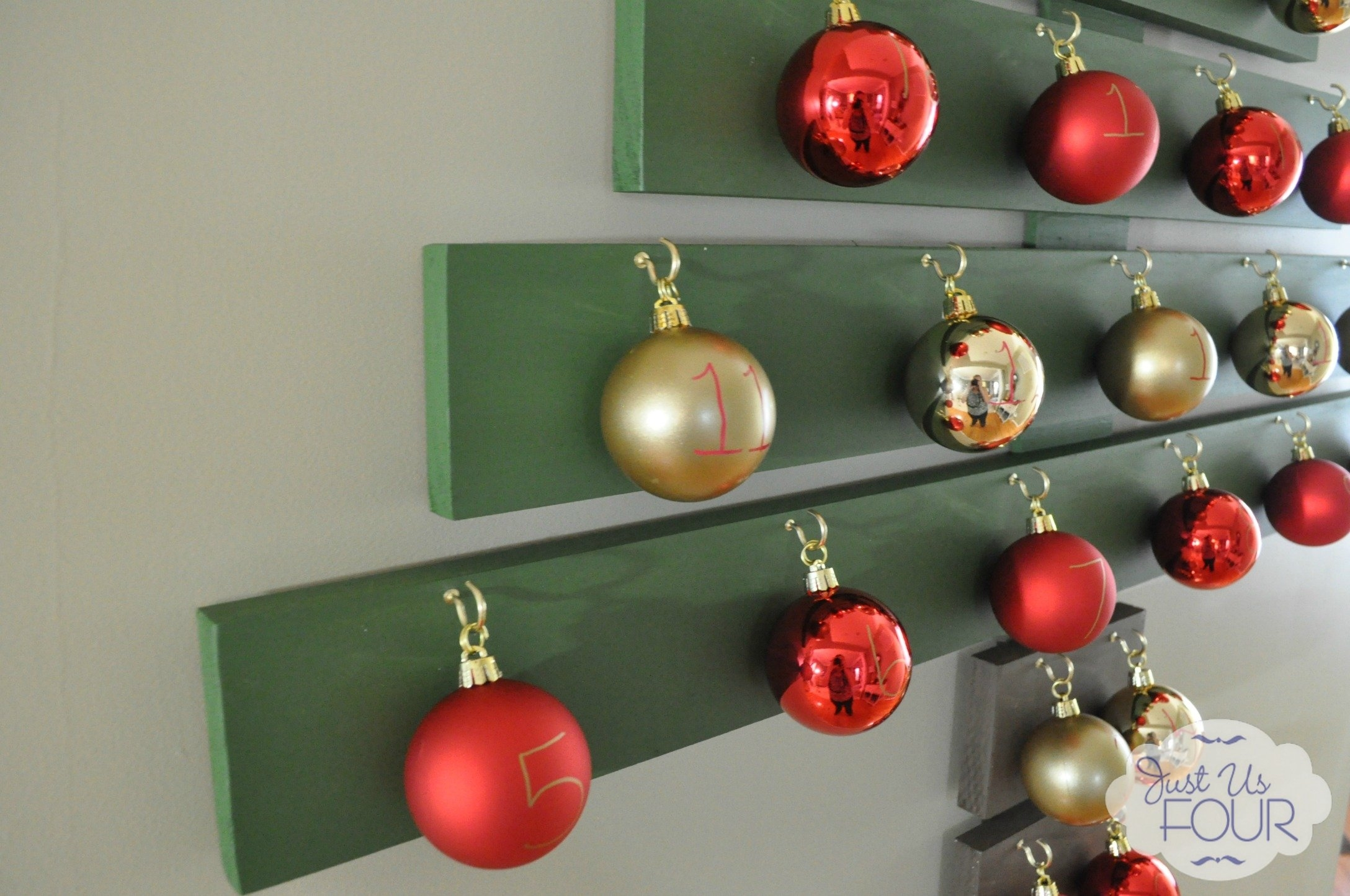 Wall Decorations For Christmas Part - 24: DIY | DIY Wall Decorations For Christmas U2013 Idea # 7