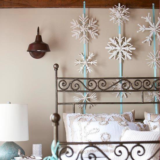 Decorazioni murali natalizie fai da te ecco 15 idee per - Decorazione murale ...