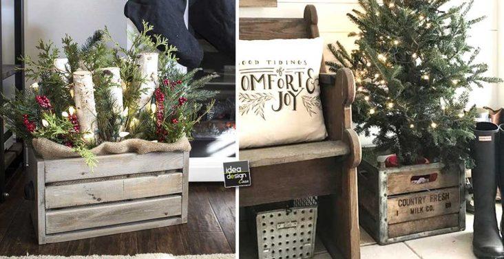 Decorazioni Ufficio Natale : Abbellire casa con un cesto a natale ecco idee per ispirarvi