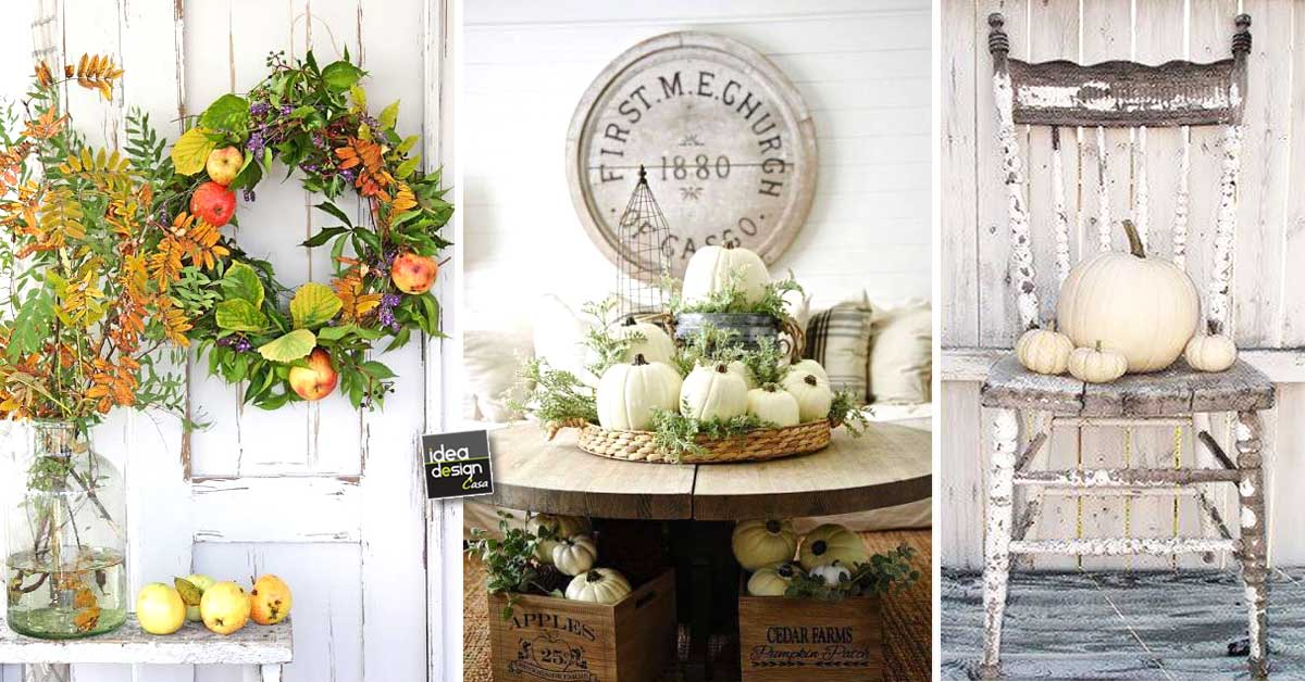Decorazioni shabby chic in autunno ecco 16 idee per for Decorazioni shabby chic fai da te
