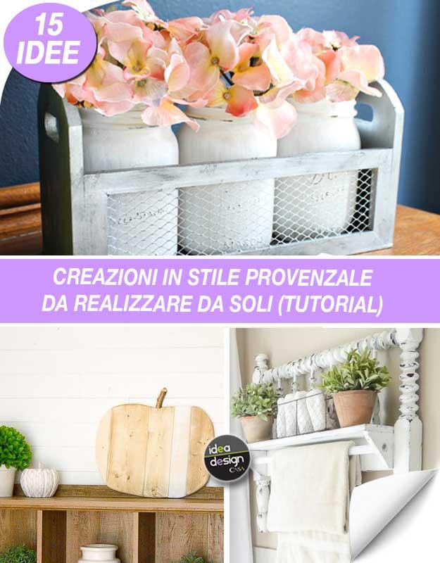 Super Decorazioni in stile Provenzale Fai da te! 15 idee per ispirarvi  NE28