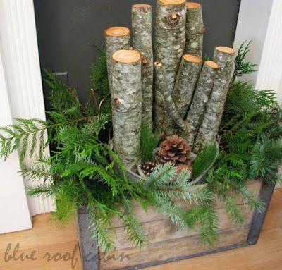 Decorazioni invernali fai da te molto carine per abbellire - Decorazioni invernali fai da te ...