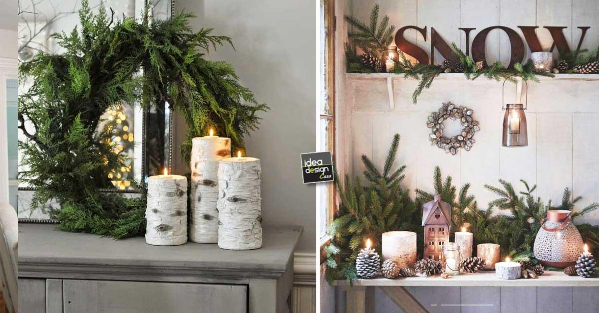 Decorazioni natalizie stile rustico ecco 15 idee da cui - Decorazioni natalizie stile shabby chic ...