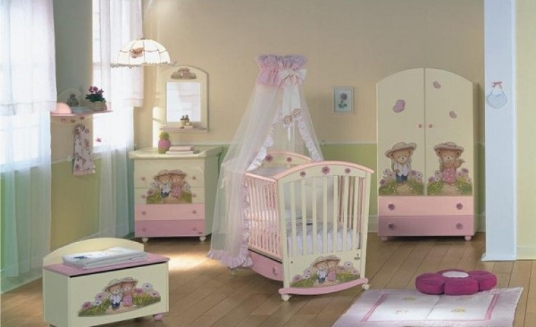 Decorare la cameretta di un neonato ecco 20 idee stupende for Idee pareti cameretta neonato