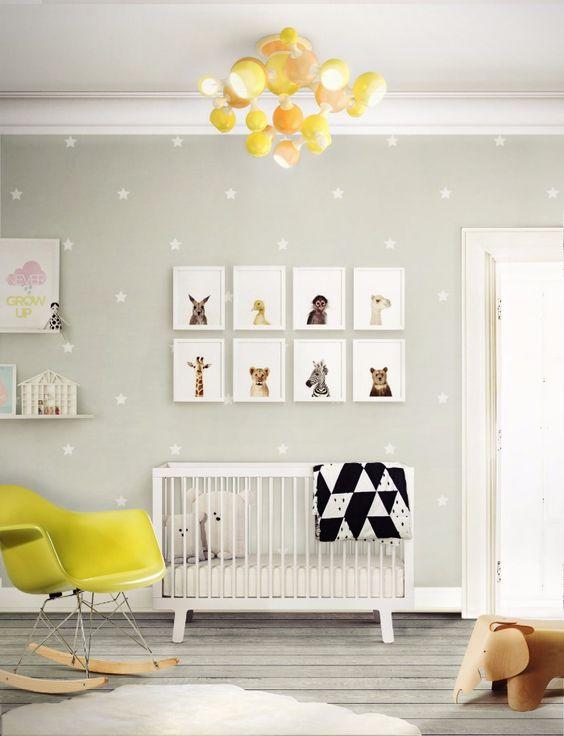 Decorare la cameretta di un neonato ecco 20 idee stupende - Decorare cameretta neonato ...