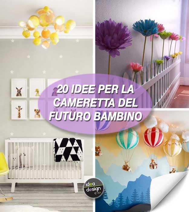 Decorare la cameretta di un neonato ecco 20 idee stupende - Idee camerette neonato ...