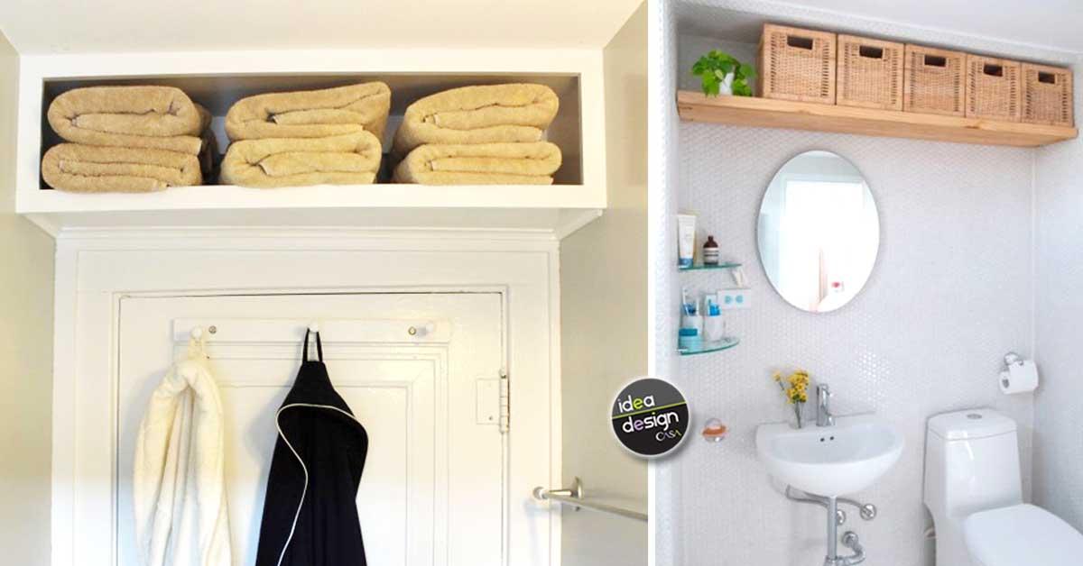 Mensole salvaspazio in bagno ecco idee da cui trarre