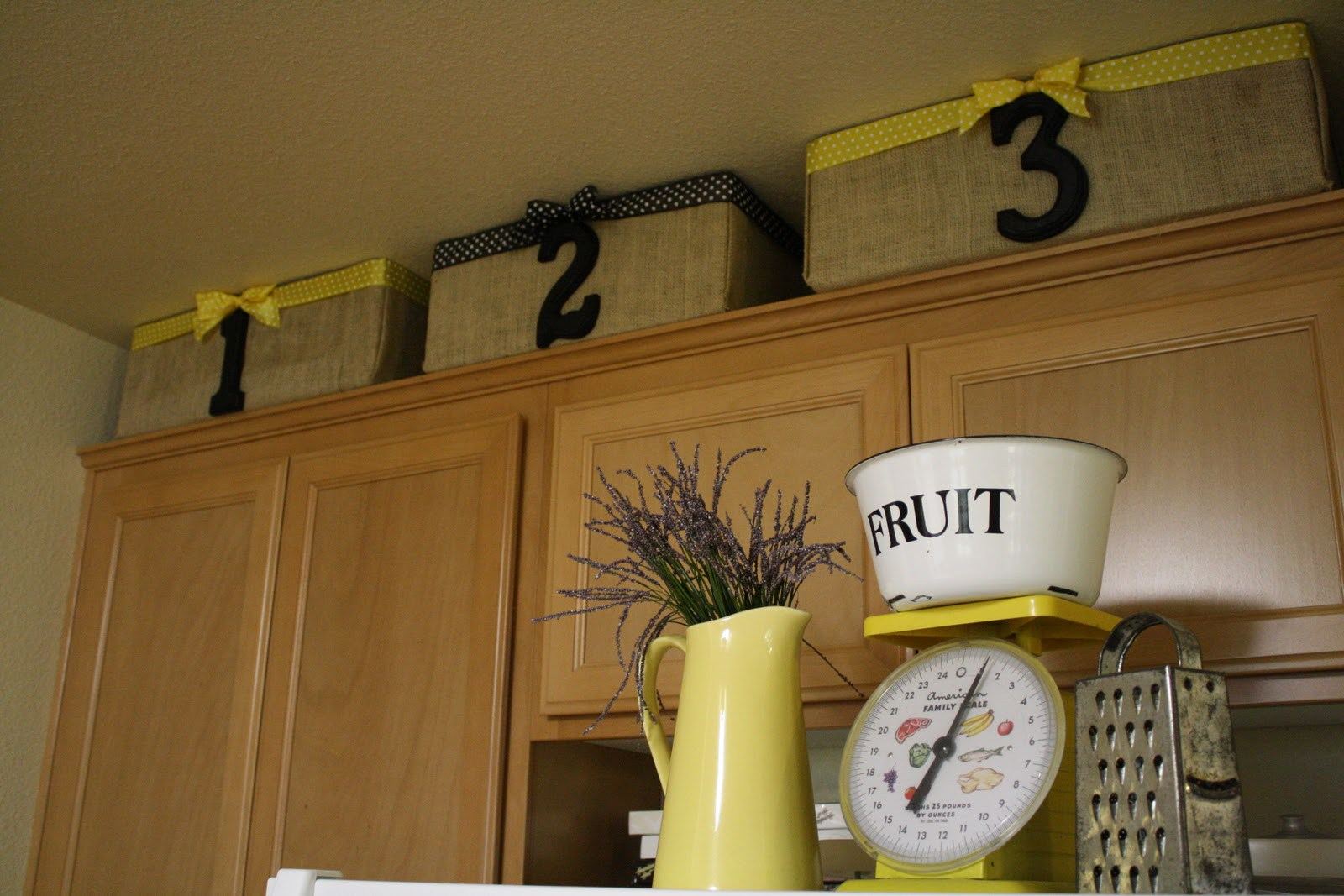 Decorar por encima de los armarios de la cocina! Presentamos 20 ...