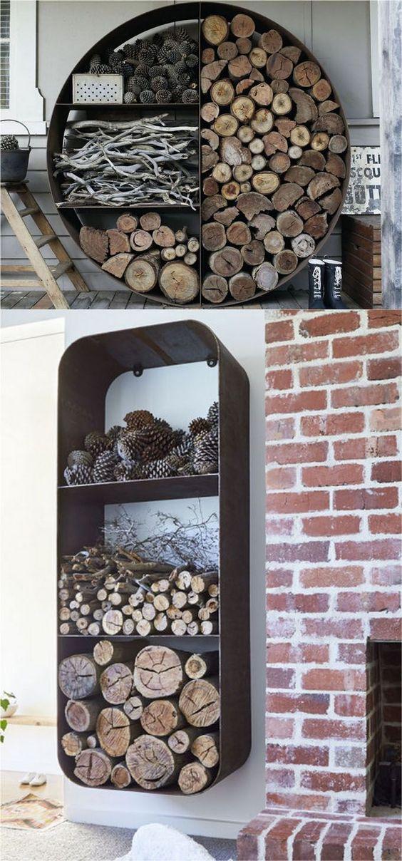 Sistemare la legna in casa d 39 inverno ecco 20 idee da cui for Come sistemare la casa