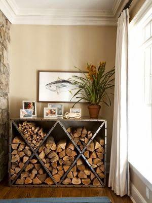 Sistemare la legna in casa d 39 inverno ecco 20 idee da cui - Idea per la casa ...