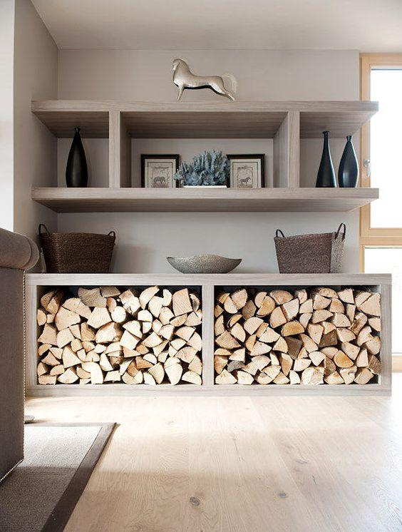 Sistemare la legna in casa d 39 inverno ecco 20 idee da cui for Idee design casa