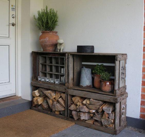 Sistemare la legna in casa d 39 inverno ecco 20 idee da cui for Sistemare casa
