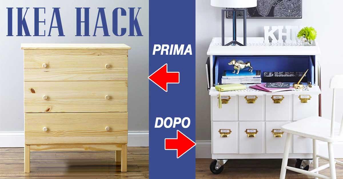 Ikea Hack | 23 trucchi per aggiungere un tocco Chic ad un
