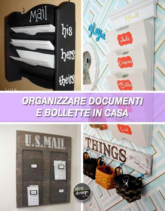 Organizzare documenti e bollette in casa 20 idee per - Organizzare la casa ...