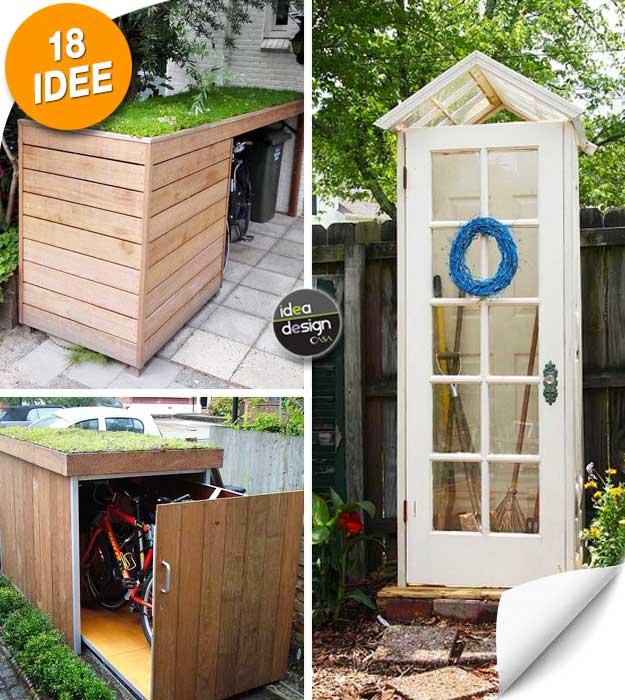 Come sistemare in giardino ecco 18 idee da cui trarre - Organizzare il giardino ...