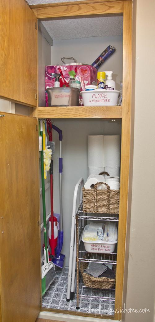 Conosciuto Organizzare il ripostiglio dei prodotti per le pulizie!Ecco 15  AH62