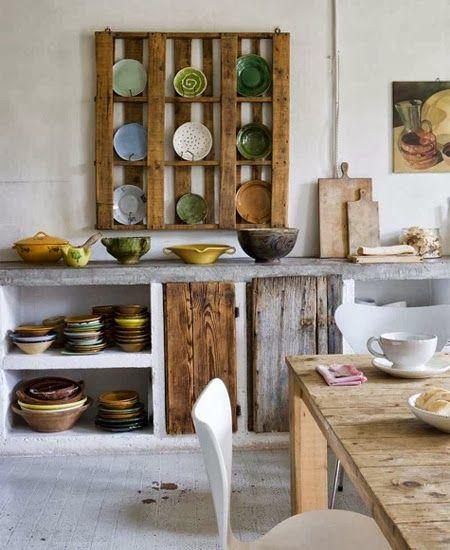 Riciclare per decorare in stile provenzale