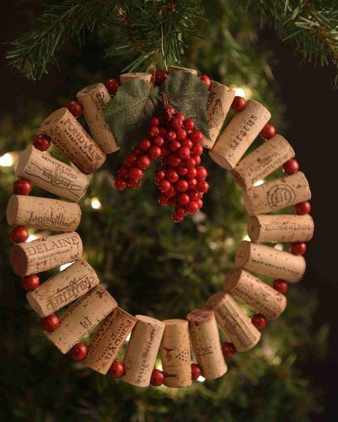 Molto Riciclo creativo per decorare a Natale! Ecco 20 idee per ispirarvi GE32