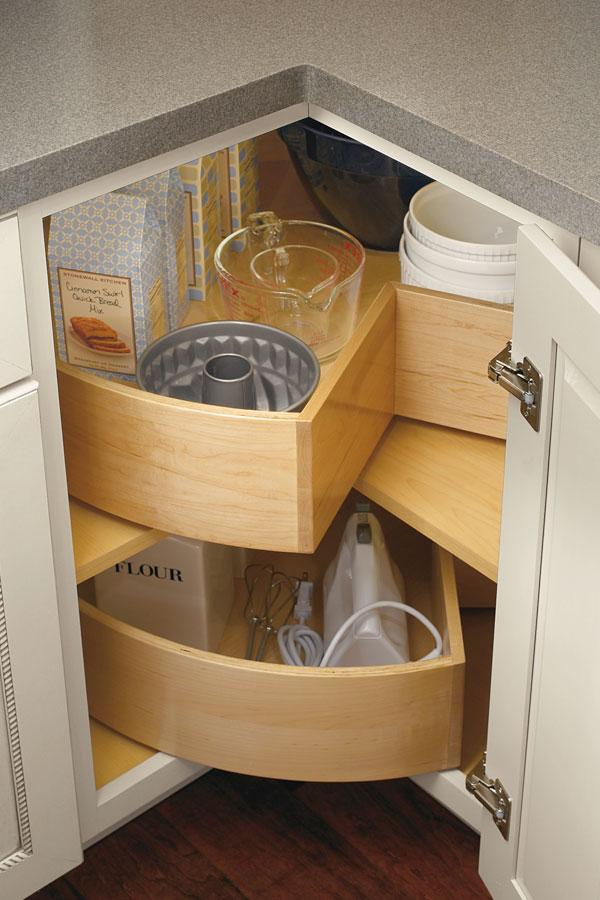 Sfruttare gli angoli in una piccola cucina! 20 idee da cui trarre ...