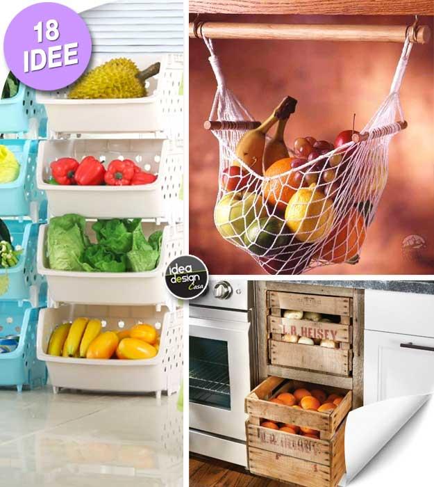 Heute Haben Wir Für Sie Eine Kleine Sammlung Von 20 Ideen Für Die Lagerung  Von Obst Und Gemüse In Ihrer Kleinen Küche Ausgewählt.