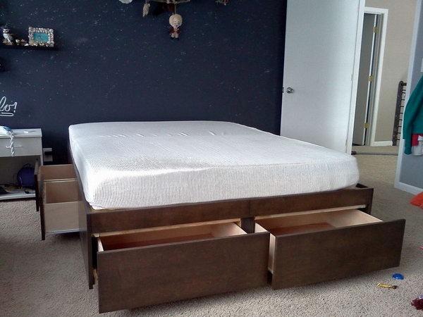 Sfruttare lo spazio sotto il letto ecco 20 idee per ispirarvi - Tv a scomparsa sotto il letto ...