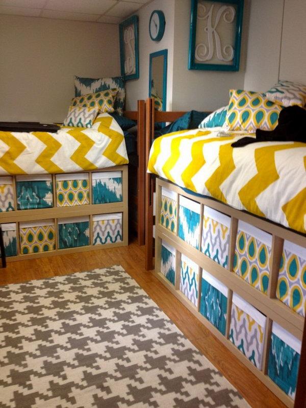 Sfruttare lo spazio sotto il letto ecco 20 idee per - Lo trovi sotto il letto ...
