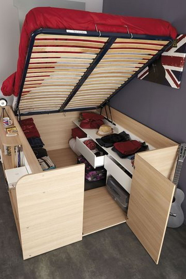 Superior As Extra Storage Space Under The Bed U2013 Idea # 18 Part 31