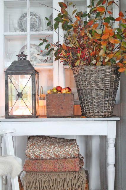Decorare casa con un vaso autunnale 15 idee creative per ispirarvi - Herbstdeko pinterest ...