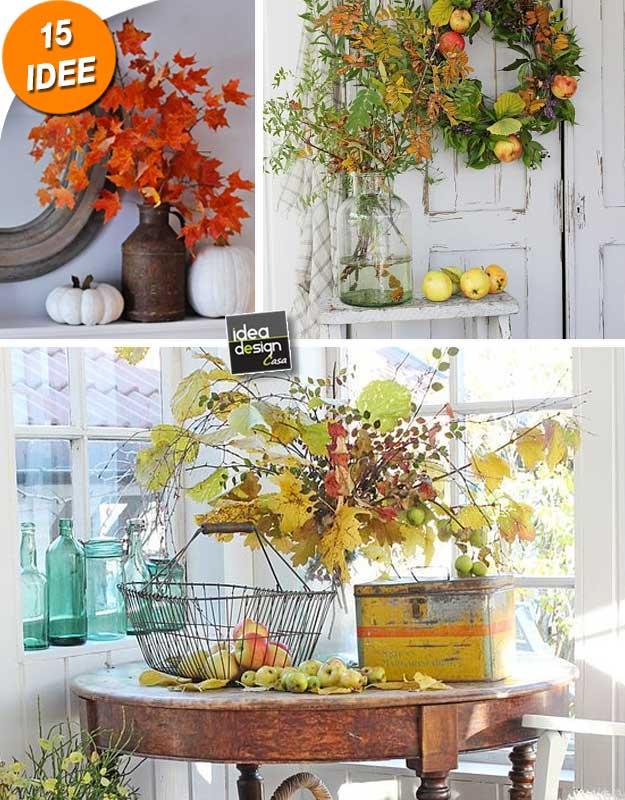 Idee Per Decorare Casa Autunno.Decorare Casa Con Un Vaso Autunnale 15 Idee Creative Per Ispirarvi
