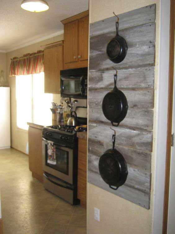 Eccezionale Riciclare dei bancali per arredare la cucina! Ecco 15 idee creative XK02