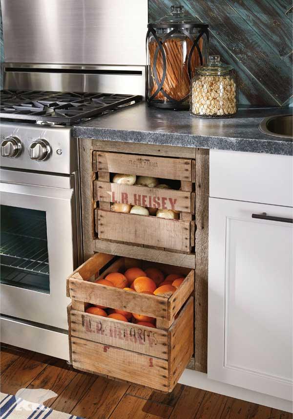 abbastanza Riciclare dei bancali per arredare la cucina! Ecco 15 idee creative ZA36