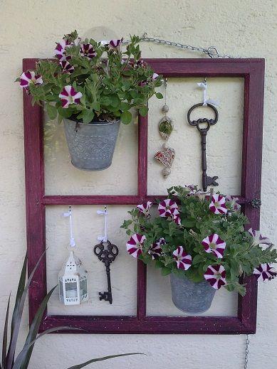 Alte Fenster Als Deko Im Garten mit einem alten fenster dekorieren 20 kreative wege um sie zu