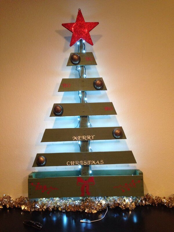 Un Bancale di Natale fai da te