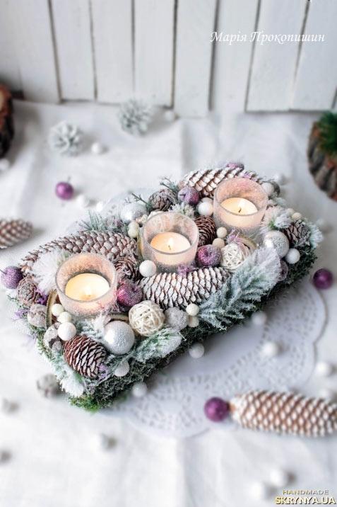 Addobbi natalizi fai da te per la tavola 15 idee per ispirarvi - Decorazioni per capodanno fai da te ...
