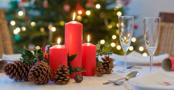 Addobbi natalizi fai da te per la tavola 15 idee per ispirarvi - Decorazioni tavola capodanno fai da te ...