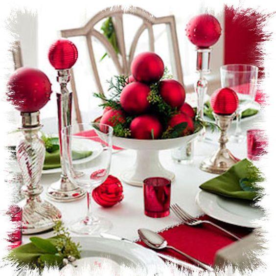 Addobbi natalizi fai da te per la tavola 15 idee per - Decorazioni tavola natalizie fai da te ...