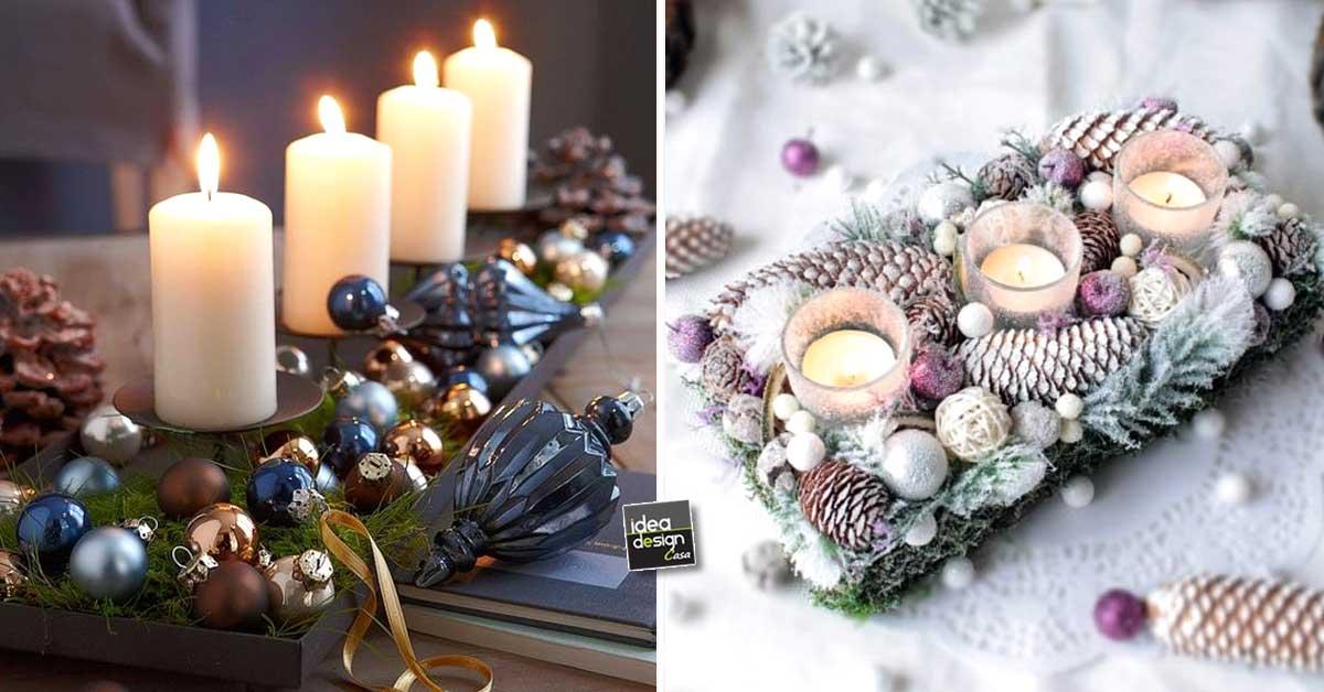 Addobbi natalizi fai da te per la tavola 15 idee per - Tavola natale fai da te ...