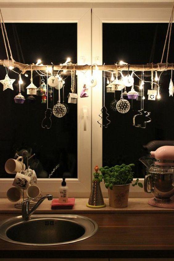 Hängende Dekoration für Weihnachten! 15 schöne Ideen zu begeistern...