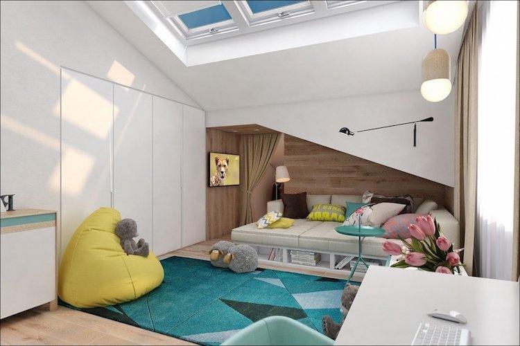 Arredare una piccola camera da letto ecco 15 idee salvaspazio - Meubler une petite chambre ...