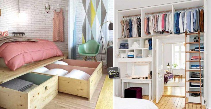 Idee creative per arredare casa su - Idee per arredare camera da letto piccola ...