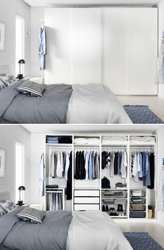 Progettare una cabina armadio ecco 15 idee per ispirarvi - Progettare casa ikea ...