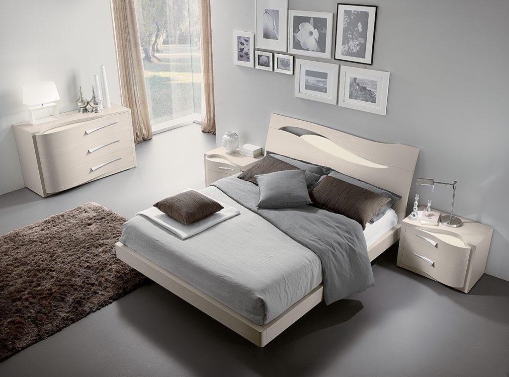Camera da letto tortora elegante e accogliente ecco 16 - Camera da letto contemporanea bianca ...
