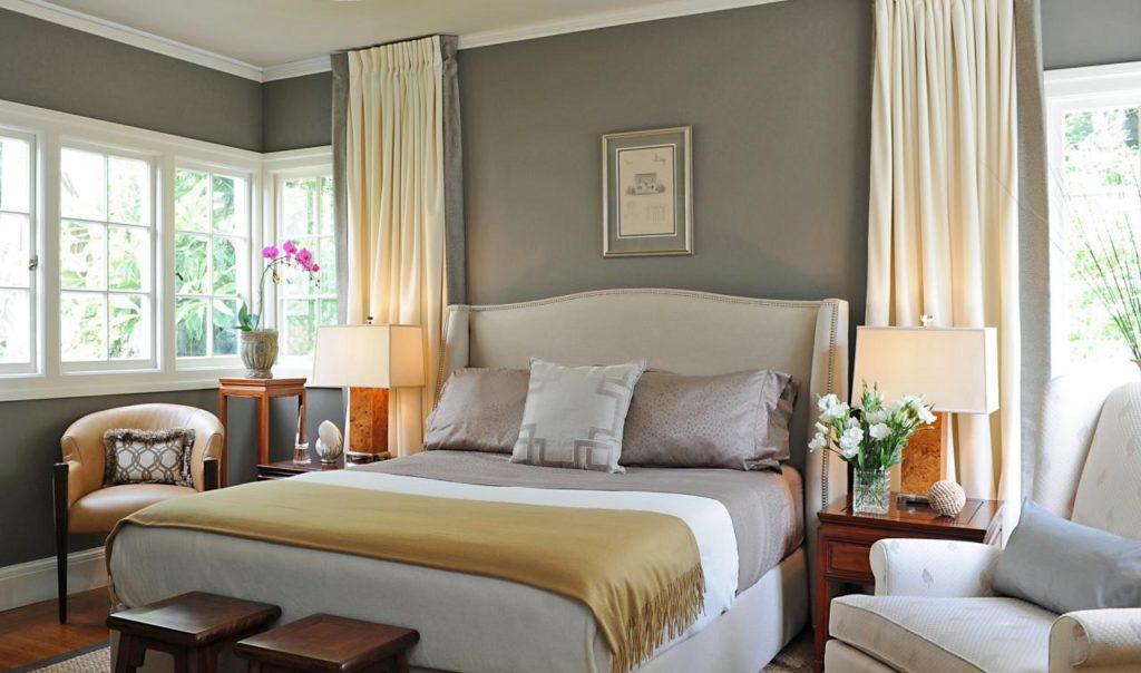 Camera da letto tortora elegante e accogliente ecco 16 idee per ispirarvi - Camera da letto marrone ...